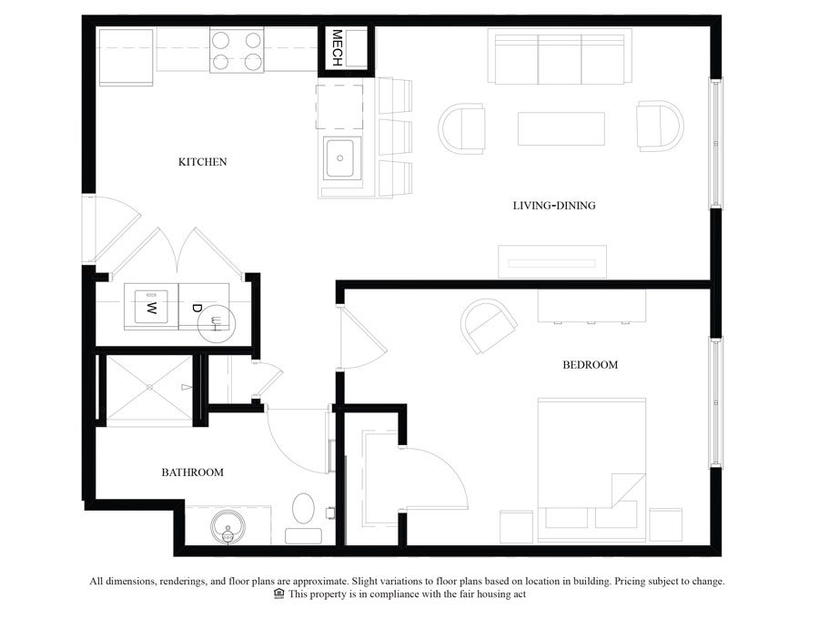 Floor Plans - Luxury Philadelphia Apartments | The Royal Worthington