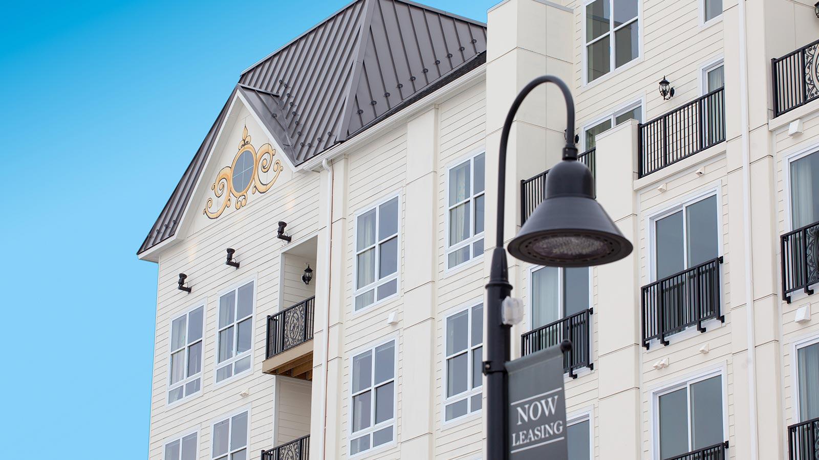 enjoy photos of our luxury apartments exterior and the beautiful lobby - Luxury Apartments Exterior